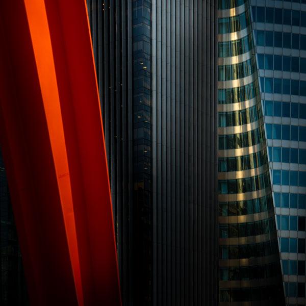 De la serie Hiperrealismo no figurativo, La Défense, París, Francia. Foto: Enrique Talenton, 2019