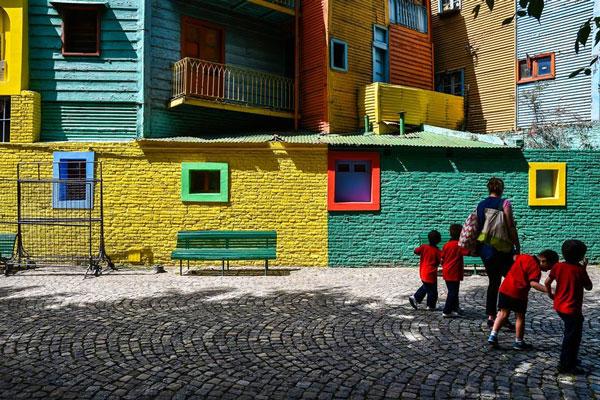 Foto: Gonzalo Viramonte. «El barrio de La Boca, entre el límite y el marketing»