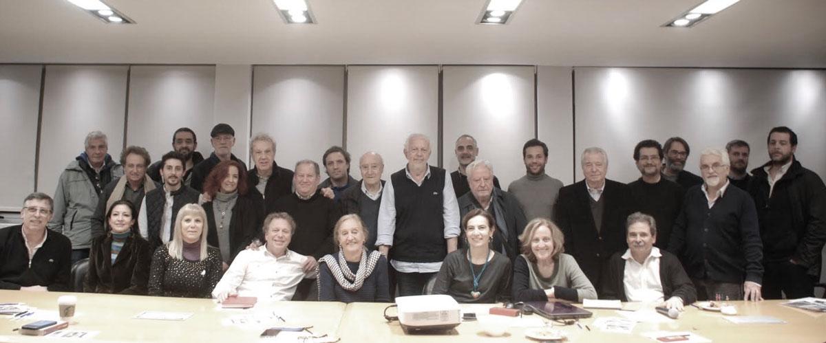 Disertantes y participantes del primer encuentro de Hablemos de Arquitectura