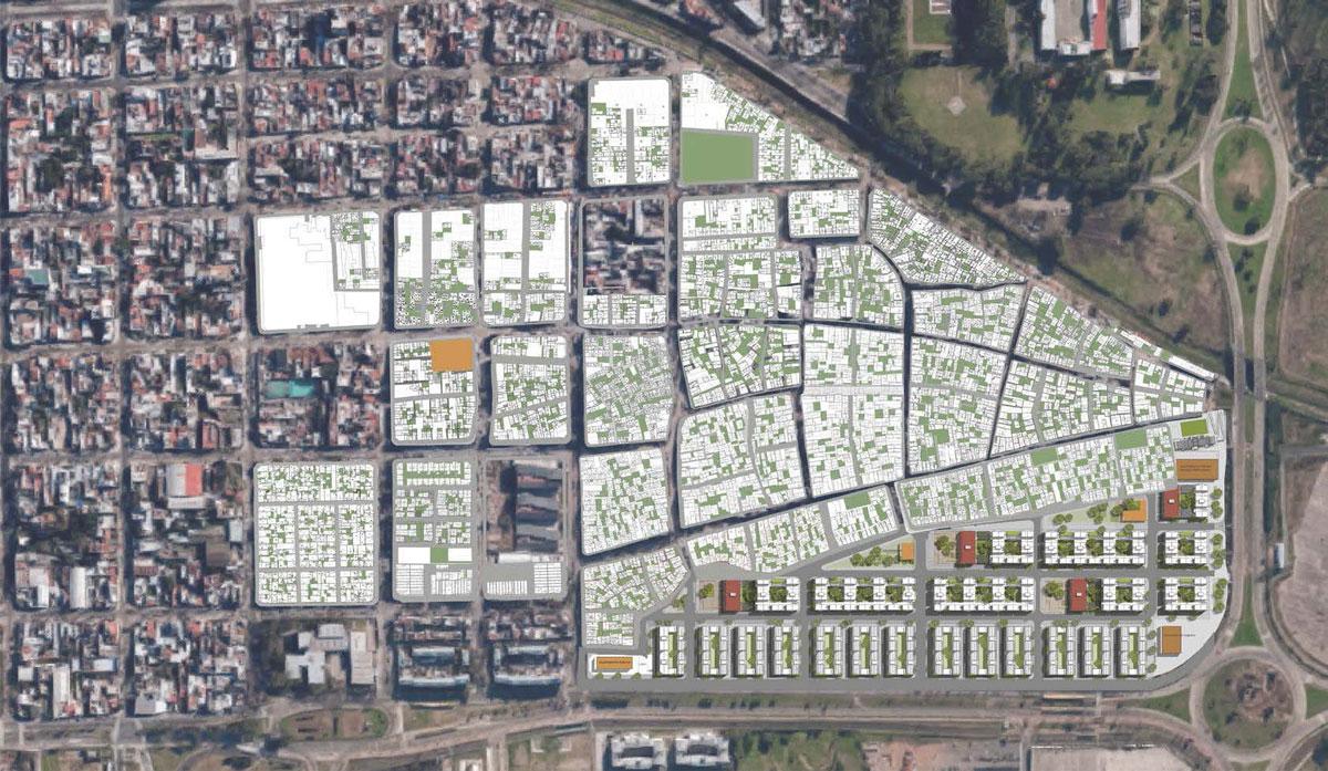 Plano general del Barrio 20. Foto: gentileza IVC.