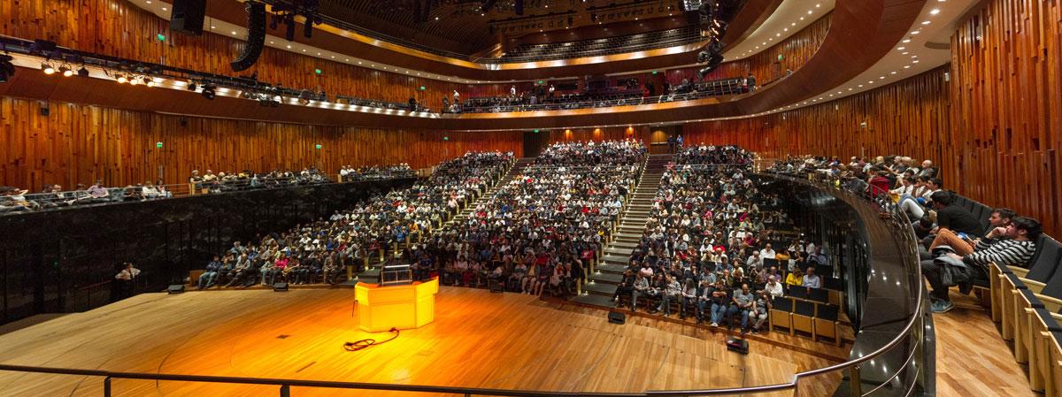 Sala Sinfónica. Responde a los estándares acústicos internacionales. Foto: Gentileza CCK.