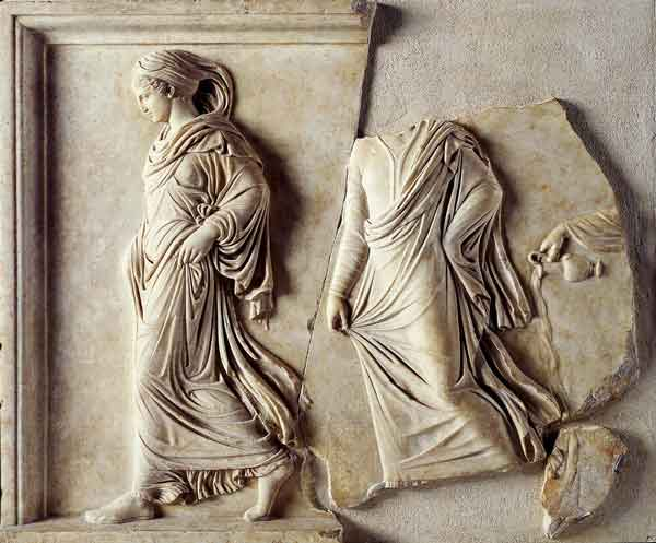 Gradiva en el Museo Chiaramonti, Vaticano