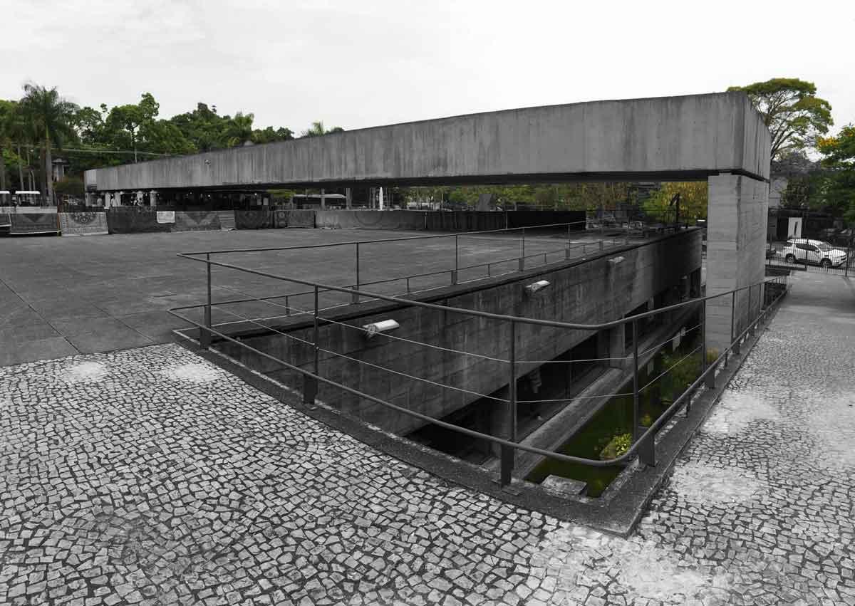 MuBE, de Paulo Mendes de Rocha. Foto de la autora.