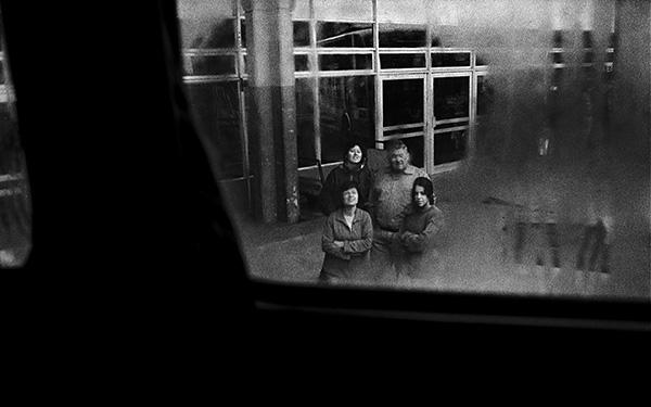 Foto: © Rafael Calviño. Terminal de ómnibus de Tandil, 2002