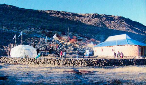 Imagen 2. Centro Cultural Ruca Tecnológica, para la comunidad mapuche.