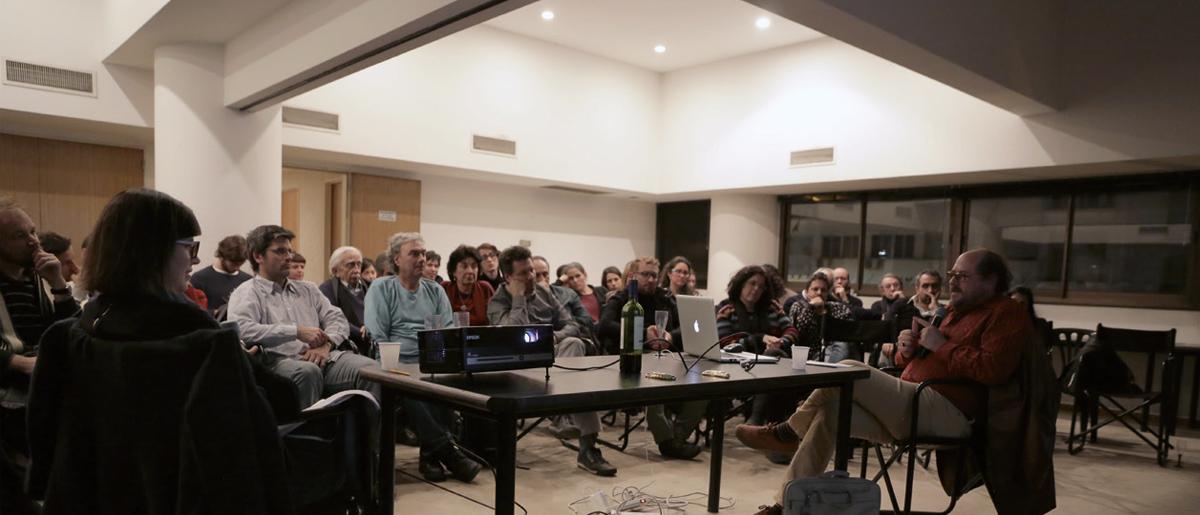 Uno de los encuentros que organiza ASN/nOISE