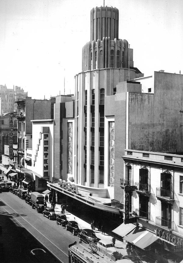 Alberto Bourdon, Cine Teatro Ópera (1936)